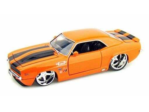 Chevy: Camaro (1969) - Laranja - 1:24