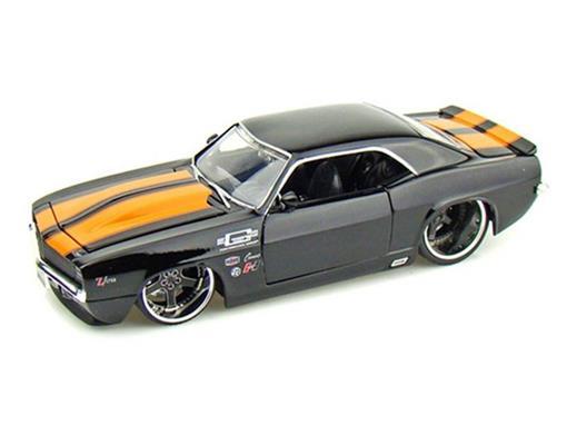 Chevy: Camaro (1969) - Preto - 1:24