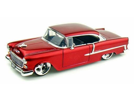 Chevrolet: Bel Air (1955) - Vermelha - 1:24