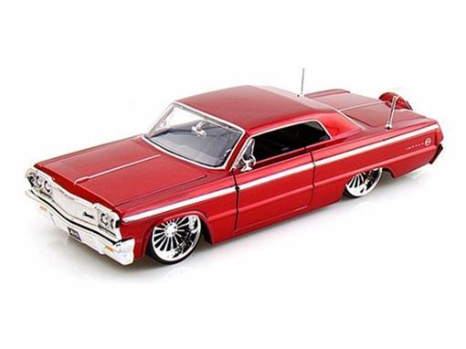 Chevrolet: Impala (1964) - Vermelho - 1:24