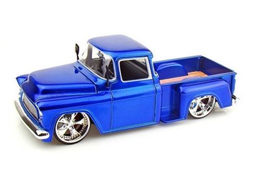 Chevrolet: Stepside (1955) - Azul - Bigtime K. 1:24