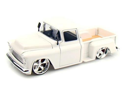 Chevrolet: Stepside (1955) - Branca - 1:24