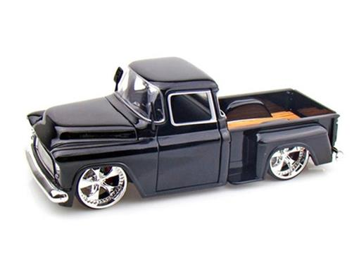 Chevrolet: Stepside (1955) - Preta - 1:24