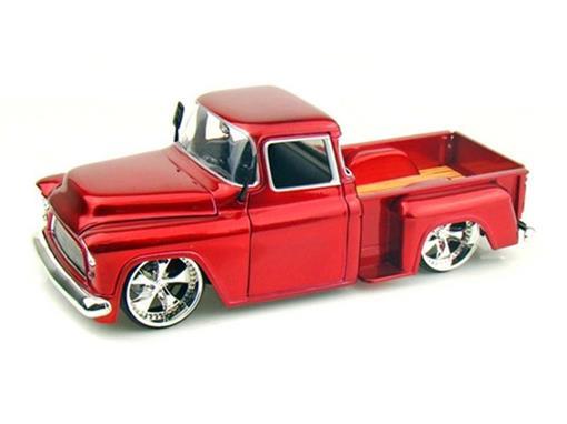 Chevrolet: Stepside (1955) - Vermelha - 1:24