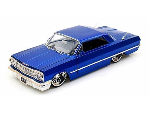 Chevrolet: Impala (1963) - Azul - 1:24