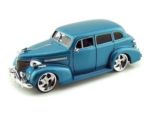 Chevrolet: Master Deluxe (1939) - Azul - 1:24