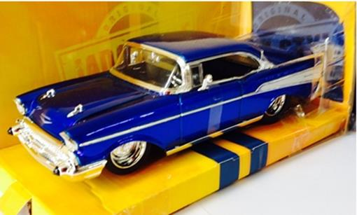 Chevrolet: Bel Air (1957) - Azul - Bigtime Muscle - 1:24