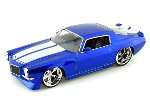Chevy: Camaro (1971) - Azul - 1:24