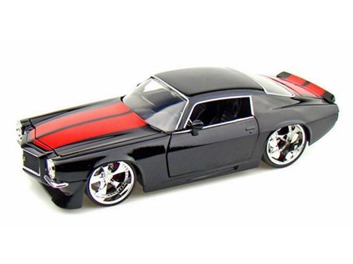 Chevy: Camaro (1971) - Preto - 1:24