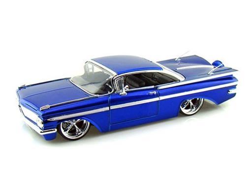 Chevrolet: Impala (1959) - Azul - 1:24