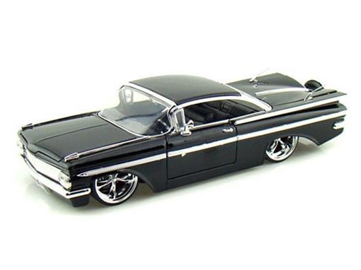 Chevrolet: Impala (1959) - Preto - 1:24