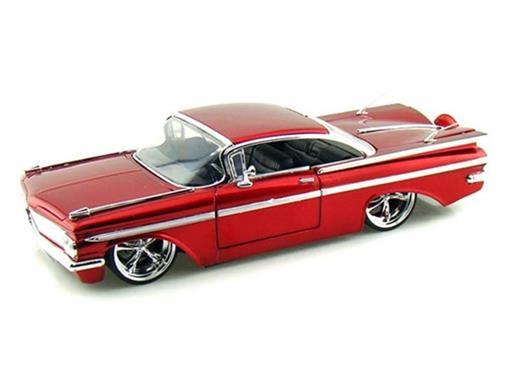 Chevrolet: Impala (1959) - Vermelho - 1:24
