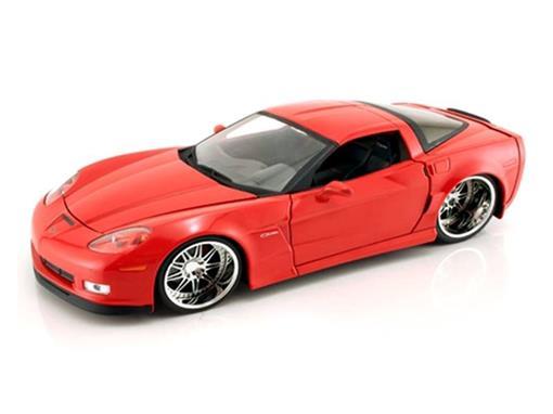 Chevrolet: Corvette Z06 (2006) - Vermelho - 1:24