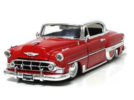 Chervolet: Bel Air (1953) - Vermelha - 1:24