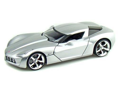 Chevrolet: Corvette Stingray Concept (2009) - Prata - 1:24
