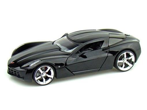 Chevrolet: Corvette Stingray Concept (2009) - Preto - 1:24