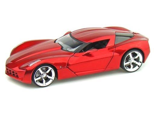 Chevrolet: Corvette Stingray Concept (2009) - Vermelho - 1:24