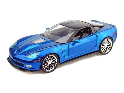 Chevrolet: Corvette ZR1 (2009) - Azul - 1:18