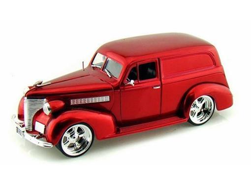 Chevrolet: Sedan Delivery (1939) - Vermelho - 1:24