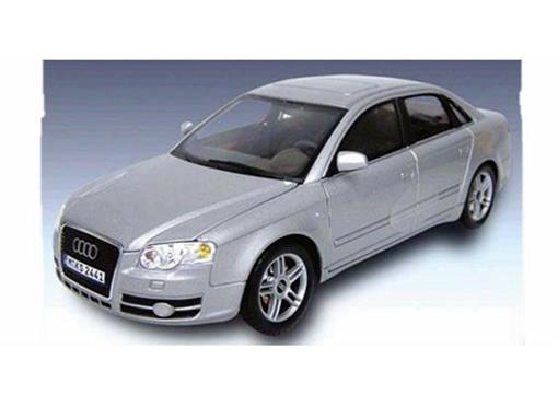 Audi: A4 - Prata - 1:24
