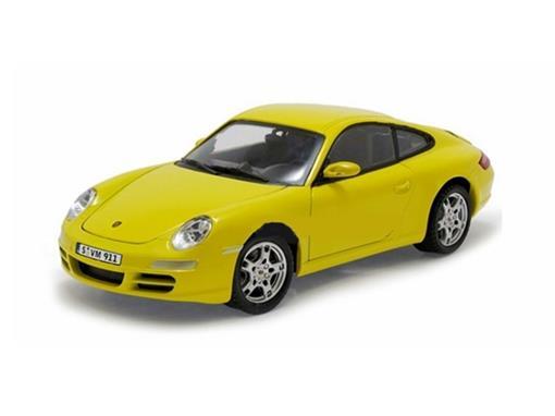 Porsche: 911 Carrera S - Amarelo - 1:24