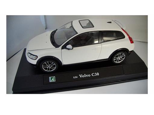 Volvo: C30 - Branco - 1:24