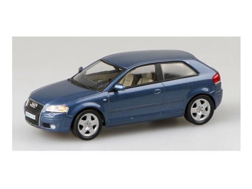 Audi: A3 - Azul - 1:43