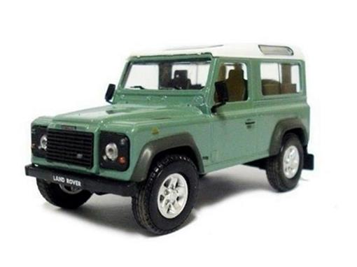 Land Rover: Defender - Verde - 1:43