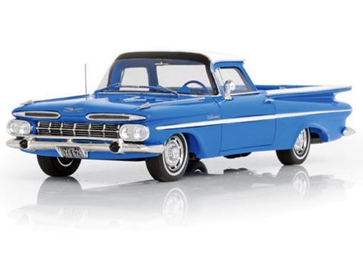 Chevrolet: Impala El Camino (1959) - Azul - 1:43