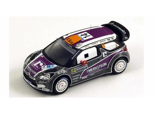 Citroen: DS3 WRC #14 Acropolis Rally (2011) - 1:43