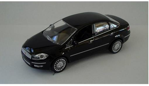 Fiat: Linea - Preto - 1:43