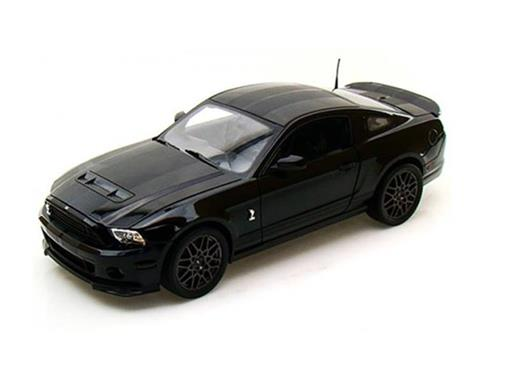 Ford: Shelby GT500 (2013) - Preto - 1:18 - Shelby Collectibles