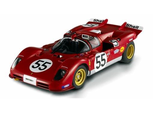 Ferrari: 512 S 1000 Kilometros Of Nurburgring #55 (1970) - 1:18