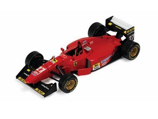 Ferrari: 412 T1 - Jean Alesi - Great Britain GP 1994 - 1:43