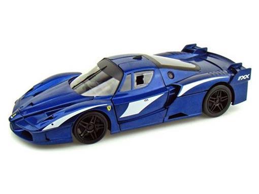 Ferrari: FXX Evoluzione - Azul Metálico - 1:18