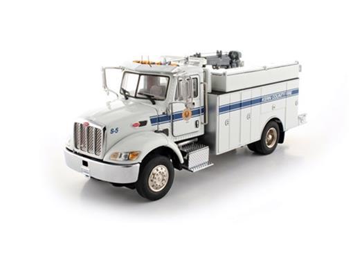 Peterbilt: 335 Caminhão Mecânico - Fire Dept. Kern County - 1:50