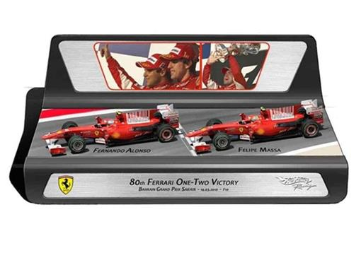 Ferrari: Set Fernando Alonso/Felipe Massa - Bahrain 2010 - 1:43