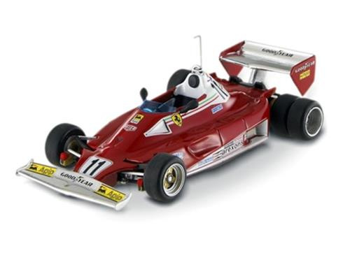 Ferrari: 312 T2 - N. Lauda - 6 Wheels Test 1977 - 1:43