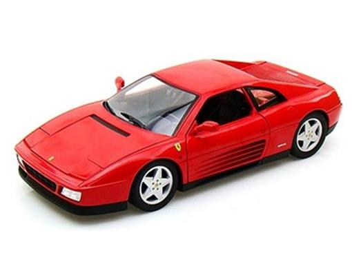 Ferrari: 348 (1989) - Vermelha - 1:18