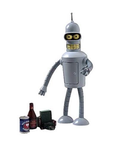 Boneco Bender - Futurama