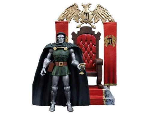 Boneco Doctor Doom (Dr. Destino) - Marvel Select