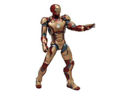 Boneco Iron Man Mark XLII (Homem de Ferro 3) - Marvel Select