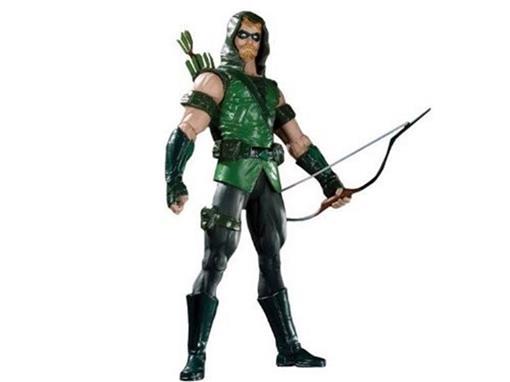 Boneco Green Arrow (Arqueiro Verde) - Brightest Day - Series 1