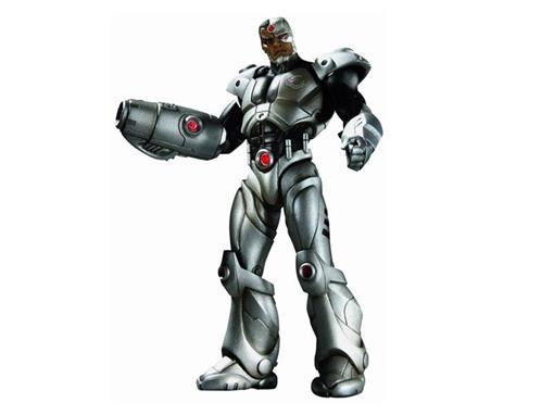 Boneco Cyborg - Flashpoint - Series 1