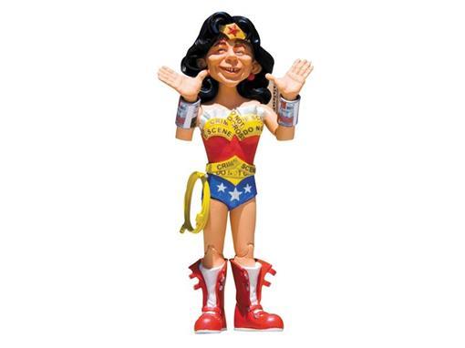 Boneco MAD Wonder Woman Just-Us League of Stupid Heroes