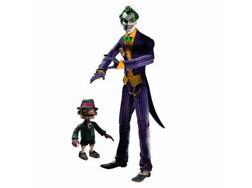 Boneco The Joker with Scarface - Arkham Asylum - DC Collectibles