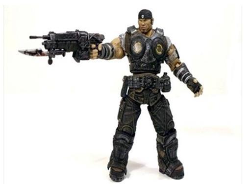 Boneco Marcus Fenix - Gears of War 3