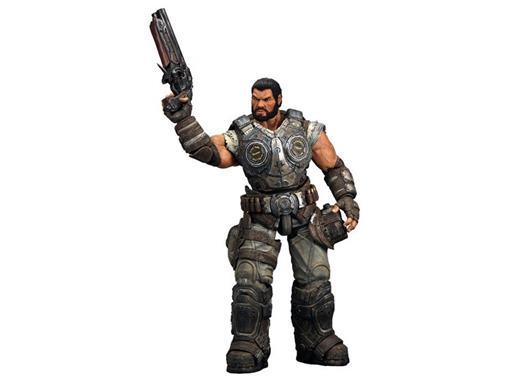 Boneco Dominic Santiago - Gears of War 3