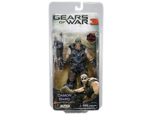 Boneco Damon Baird - Gears of War 3