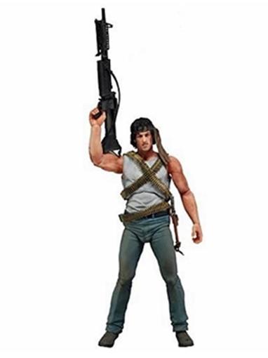 Boneco Rambo First Blood - Neca